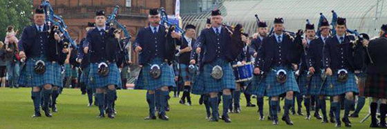 R.A.F. Central Scotland Pipes & Drums