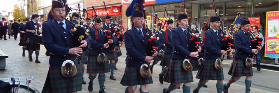 Perth and District Grade 4 Pipe Band